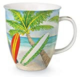Palm Trees and Surfboards 16 Ounce Coffee or Tea Mug