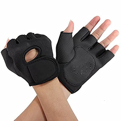 Flammi Sport Cycling Fitness GYM Weightlifting Exercise Half Finger Gloves for Women