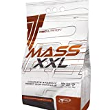 Buy Mass Builder - Mass XXL 3kg (caramel-vanilla) - Complete Anabolic Weight Gain Formula - Rapid increase of muscle mass - Carbohydrate and whey protein complex (19% protein) with vitamins - Trec Nutrition Price-image