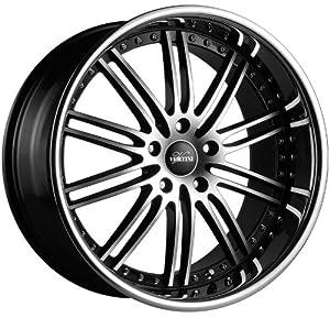20″ Wheels Vertini Hennessey 20×8.5 20×10 Black Machine Face Mercedes-benz 5×112