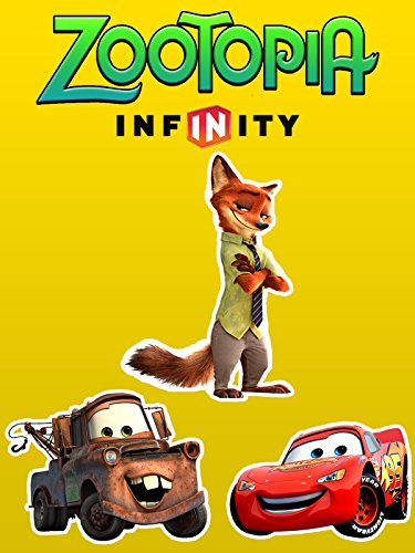Disney ZOOTOPIA Movie Nick Wilde vs Disney Cars Lightning McQueen and Tow Mater