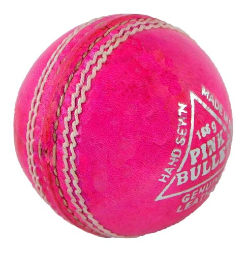 Upfront Qvu Pink Bullet leather cricket ball - JUNIORS