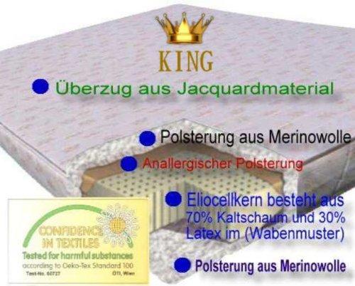 Eliocell KING Kaltschaum Kaltschaummatratze Matratze 120x190