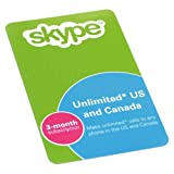 Skype Starter Kit - Headset and 720p Webcam (White) Includes Voucher for 3 Months of Us/Canada Calls