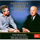 Beethoven : Concerto Pour Piano Et Orchestre N�4 Op. 58 - Franck : Variations Symphoniques - Ravel..