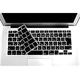 MacBook Air 11インチ 日本語 キーボードカバー 保護カバー (JIS配列) 〈 MacBook Air 11 11.6インチ用〉マックブック ブラック (黒) 【MMR】