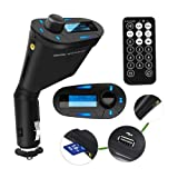 TOOGOO Car Kit Mp3 Player Wireless Fm Transmitter Modulator USB Sd MMC Slot with Remote