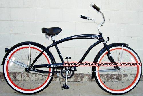 micargi-rover-gx-1-speed-for-men-black-red-26-beach-cruiser-bike-schwinn-nirve-firmstrong-style-by-m