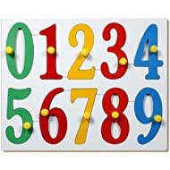 Little Genius Jumbo Numbers with Big Knobs