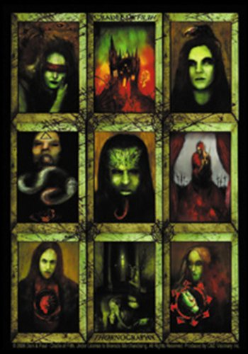 Licenses Products Cradle of Filth Thornography Sticker