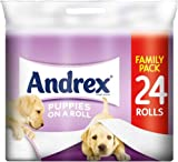 Andrex Puppies on a Roll 24 Roll Toilet Tissue (2 Pack) 48 Rolls in total