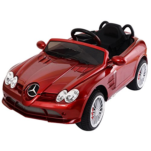 Costzon Mercedes Benz R199 12V Electric Kids Ride On Car Licensed MP3 RC Remote Control (Benz Car For Kids compare prices)