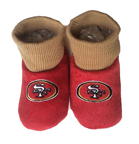 NFL San Francisco 49ers Kids Slippers, Shoe Size 13-1