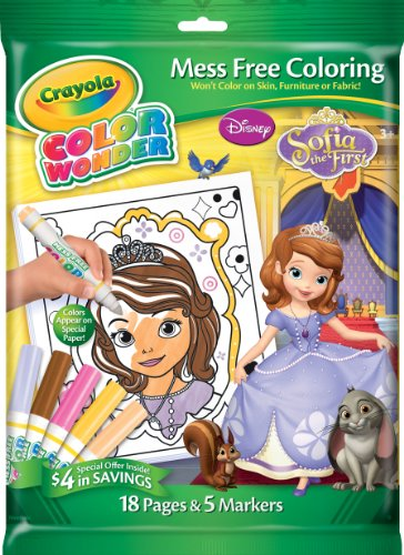 Crayola Sofia The 1st Color Wonder Overwrap Markers - 1
