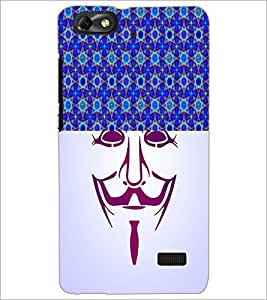 PrintDhaba Vendetta D-3747 Back Case Cover for HUAWEI HONOR 4C (Multi-Coloured)