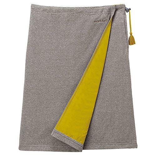 (モンベル)mont-bell シャミース™ ラップスカート 1105493 SD/OY サンド/オイルイエロー S