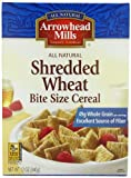 Arrowhead Mills Shredded Wheat Bite Size, 12 Ounce Box