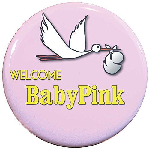 Welcome Baby Girl Card front-1034424