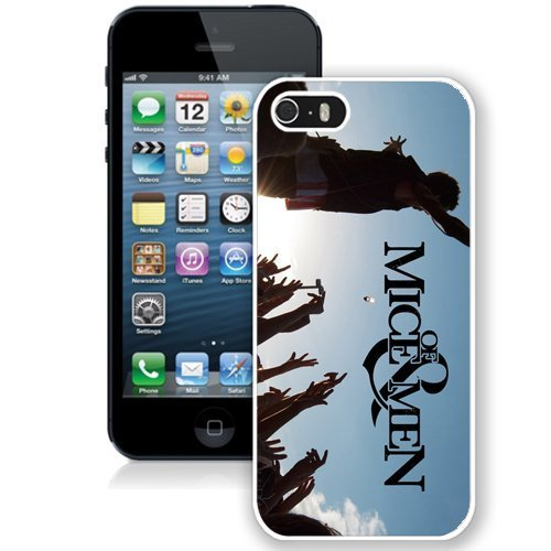 High Quality iPhone 5s Case Design with Mice&men White Case for Iphone 5 5s Generation