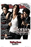 Rolling Stone Jonas Brothers - Poster 24x36 inches - SMART ART