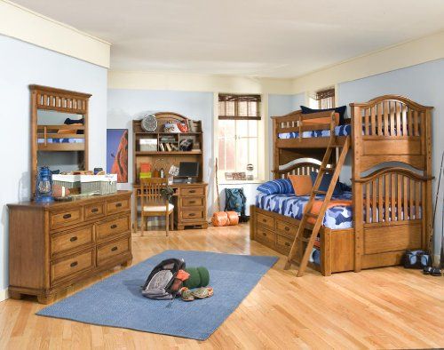 Cheap 977 Expedition Twin over Full Bunk Bedroom Set by Legacy Classic Kids (B0030NMG88)