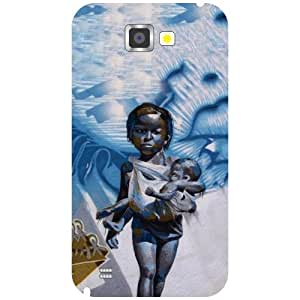 Samsung Galaxy Note 2 N7100 Back cover - Baby Love Designer cases