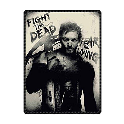 Fung mo Supersoft coperta lana The Walking Dead coperta in pile per letto/divano 147,3x 203,2cm