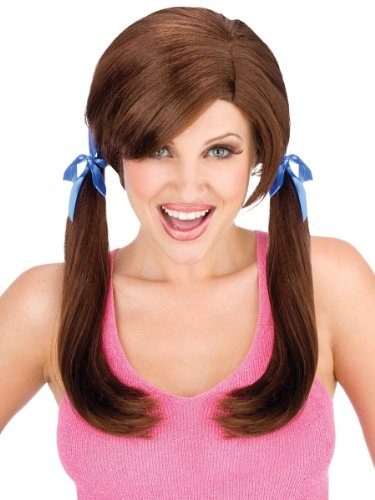 Cheap Date Brown Wig White Trash Hillbilly Wig Theatre Costumes Wig