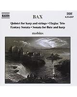 Arnold Bax : Quintette pour harpe et cordes - Trio élégiaque - Sonate fantaisie - Sonate pour flûte et harpe