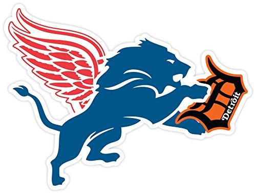 pretty nice a75e7 5e725 DETROIT Red Wings Lions Tigers Fan Sport Logo 4