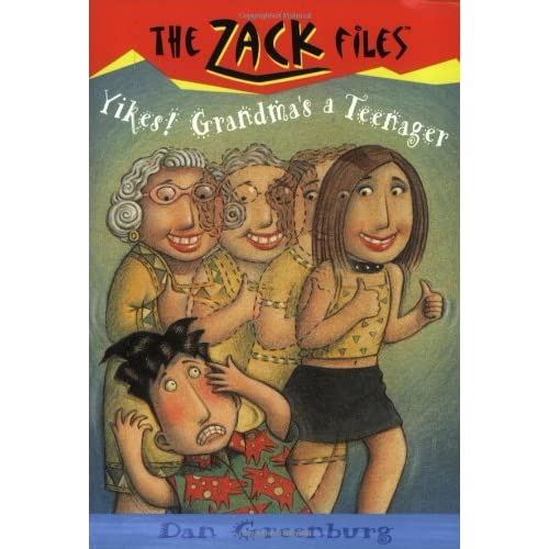 Zack-Files-17-Yikes-Grandmas-a-Teenager-Greenburg-Dan-Author-Davis-Jack