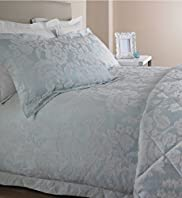 Aqua Suzie Jacquard Bedset