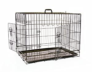 Mikki Training Two Door Dog Crate Extra Small, 63 X 48 X 55 Cm