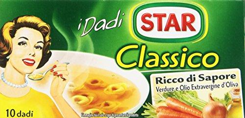 Star - Dado, Classico, ricco di sapore, verdure e olio extravergine d'oliva - 100 g  10 dadi