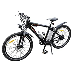 Moteur Électrique De Vélo Vtt Avec - Noir