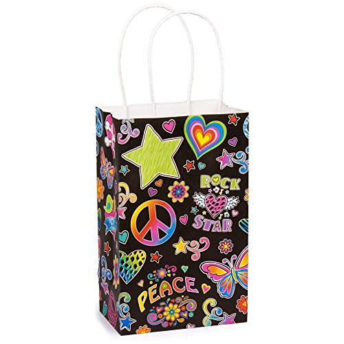 Black Neon Cub Gift Bag