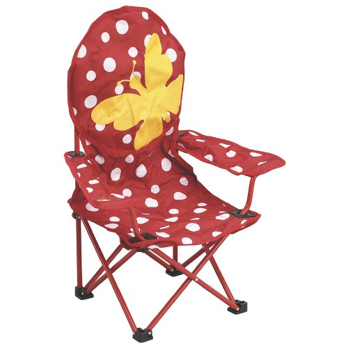 outwell butterfly enfant jaune rouge chaise de camping mobilier de camping chaises. Black Bedroom Furniture Sets. Home Design Ideas