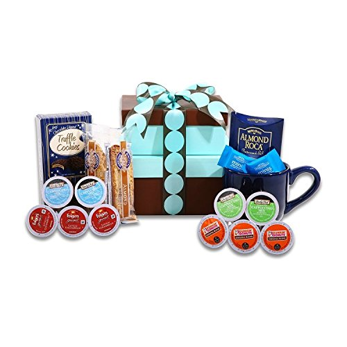 Delightful K-Cup Coffee Sampler Gift Basket (Keurig Coffee Gift Basket compare prices)