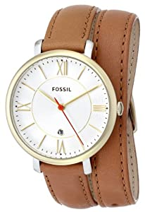 Fossil Women's ES3550 Jacqueline Analog Display Analog Quartz Brown Watch