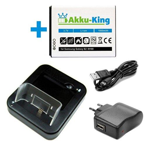 USB Dockingstation + Akku + Ladegerät