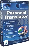 Personal Translator 2008 Professional English - Italian