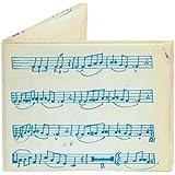 Music Sheet Mighty Wallet Tyvek, Strong Stealth Bi-Fold Wallet!