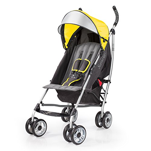 Best Deals! Summer Infant 3Dlite Convenience Stroller, Citrus