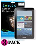 Ionic Screen Protector Film Matte (Anti-Glare) for Samsung Galaxy Tab 2 7.0 (3-pack)