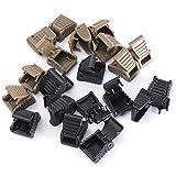 Generic JRT UK1 151124 5 1 5456 Zipper Pul HOT 10 PCS Zipper Pulls olorRandom Cord stopper End pper En Lock Zip Clips Rope Buckle Paracord UK ColorRandom HOT 10