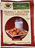 51%2BO9Xsw8OL. SL160  Good Health Peanut Butter Pretzels, Salted, 5 Ounce Bags (Pack of 12)