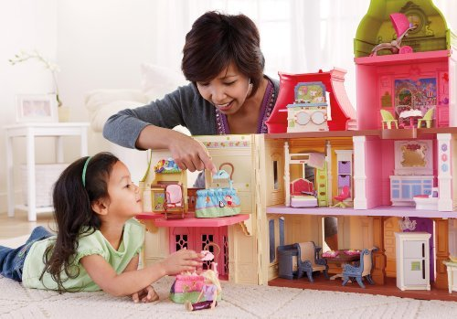 Game/Play Fisher-Price Loving Family Dollhouse Nursery Kid/Child
