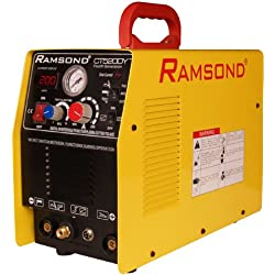Ramsond CT 520DY 3-in-1 Multifunction Digital Inverter Plasma Cutter + TIG Welder + ARC (MMA) Welder, Dual Voltage 110/220V Dual Frequency 50/60Hz