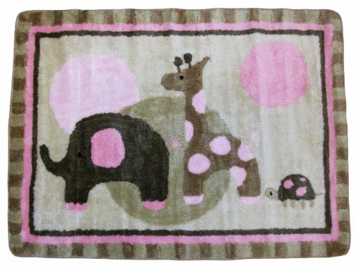 Lambs And Ivy Rug, Emma front-1004256