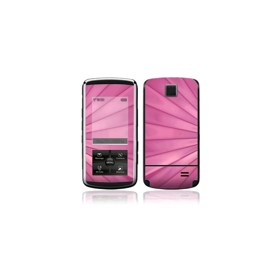 Pink Lines Decorative Skin Cover Decal Sticker for LG Venus VX8800 Cell Phone